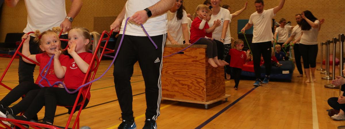 Forældre-barn gymnastik